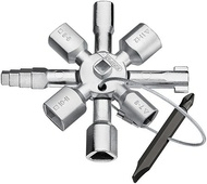 KNIPEX TwinKey® pentru tablouri electrice