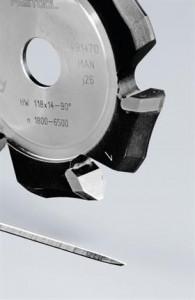Festool Freză de canelat in forma de V HW 118x14-90°/Alu