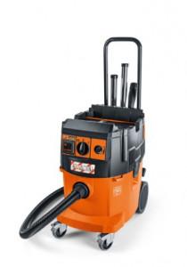Aspirator industrial Fein uscat/umed, calasa praf L, autocuratare filtru DUSTEX 35 LX AC