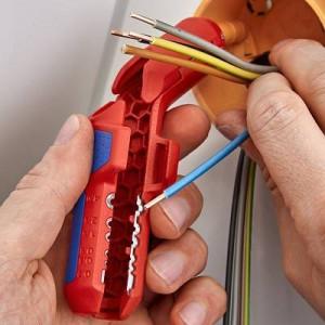 KNIPEX ErgoStrip Sculă universală pentru dezizolat 135 mm