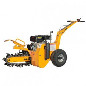 Mașină de săpat șanțuri LUMAG 196ccGF450adâncime de săpare450 mm