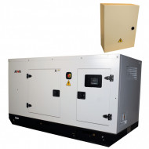 Generator de curent Insonorizat Senci SCDE 34YS-ATS, Putere max. 34 kVA, 400V, AVR cu automatizare