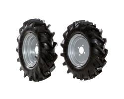 Bertolini Set roti pneumatice 5.00-10″ fixe pentru B139