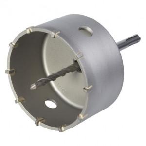 Carota cu burghiu centrare SDS Plus Wolfcraft 5490000, D 105 mm, lungime activa 46 mm