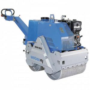 Cilindru vibrocompactor hidrostatic Weber DVH 655 E, 732 kg