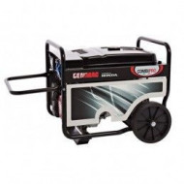 Generator curent profesional portabil GENMAC , CombiPro RG7300HEC-M , motor Honda putere maxima 7,1 Kva , 230V , pornire electrica