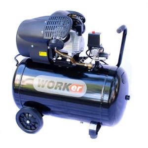 Technoworker Compresor MV 50 L, 3 CP, 320 l/min