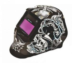 BK87718 Masca de sudura automata Breckner Germany Black Skeleton
