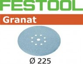 Festool Foaie abraziva STF D225/8 P180 GR/25 Granat