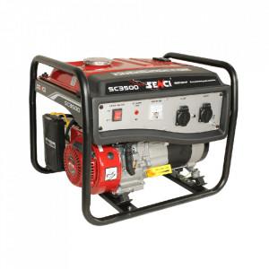 Generator curent SC 3500 Lite, Putere maxima 3 kW, 230V, AVR, motor benzina