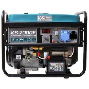 Generator de curent 5.5 kW, KS 7000E - Konner and Sohnen