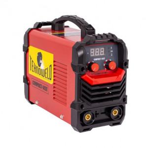 Invertor sudura MMA Tehnoweld COMPACT-145T, 140 A, electrozi 1.6-3.2 mm, cu accesorii + Masca sudura Tehnoweld MSC