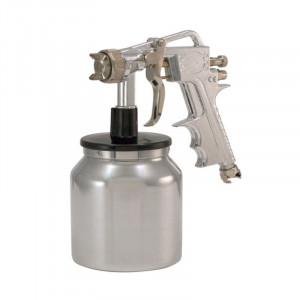 Pistol de vopsit cu cupa jos 1 kg diametru duza 1.5 mm