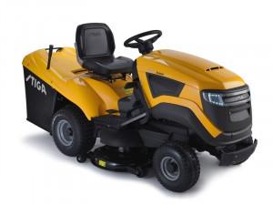 Tractoras de tuns gazon, motor 4 timpi Motor Briggs&Straton 8 CP STIGA ESTATE 3084 H