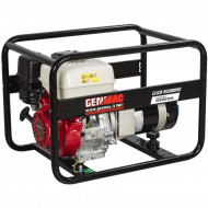 Generator de curent trifazat profesional portabil GENMAC seria Click G7900HO