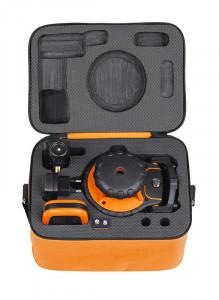 Nivela laser VERDE rotativ GeoFennel cu autonivelare pe orizontala si reglare manuala pe verticalaFL 190A GREEN