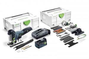 Festool Ferastrau vertical cu acumulator PSC 420 Li 5,2 EBI-Set CARVEX