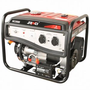 Generator curent SENCI SC-3500E-Lite Putere maxima 3 kW, AVR