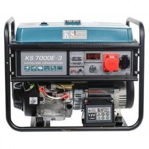 Generator de curent 5.5 kW, KS 7000E-3 - Konner and Sohnen