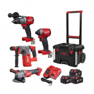 Set PowerPack Milwaukee M18FPP4B-503P