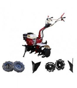 Motosapa Media Line MS 7500 CF 7CP Pachet Basic+ roti cauciuc + plug de bilonat + roti metalice + plug simplu