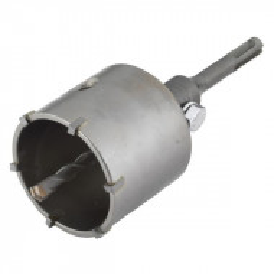 Carota cu burghiu centrare SDS Plus Wolfcraft 5483000, D 68 mm, lungime activa 46 mm