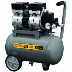 Compresor LUMAGKOM24 0,75 kW capacitate butelie 24 L