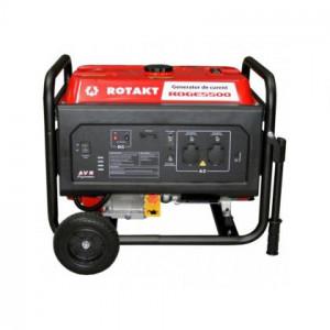 Generator de curent monofazat ROTAKT ROGE5500 5 kW, benzina