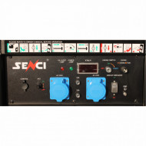 Generator de curent monofazat SC13000-EVO-ATS Putere max. 11 kW Panou de automatizare