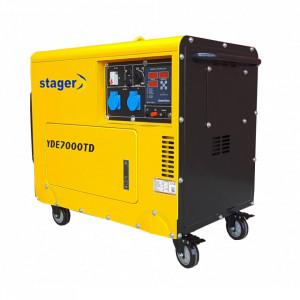 Generator monofazata insonorizat Stager YDE7000TD 5.0 KVa