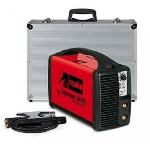 Invertor sudura cu accesorii si cutie de transport din aluminiu TELWIN TECHNOLOGY 236 HD ACX