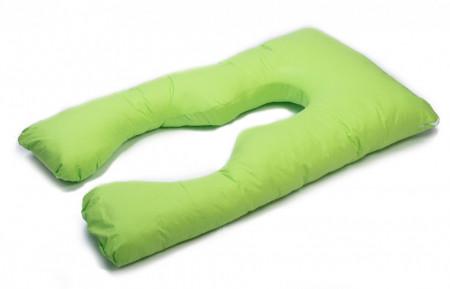 Poze HUSA perna TEO, pentru gravide si alaptare, model Verde, LEMON BOX