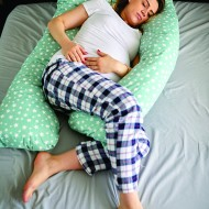 Pernă pentru gravide și alăptare - MODEL STELUȚE