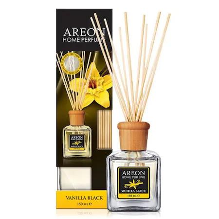 Odorizant camera cu betisoare Areon Home Perfume 150 ml Vanilla Black