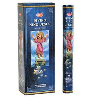Set betisoare parfumate Hem Divino Nino Jesus 1 set x 6 cutii x 20 betisoare