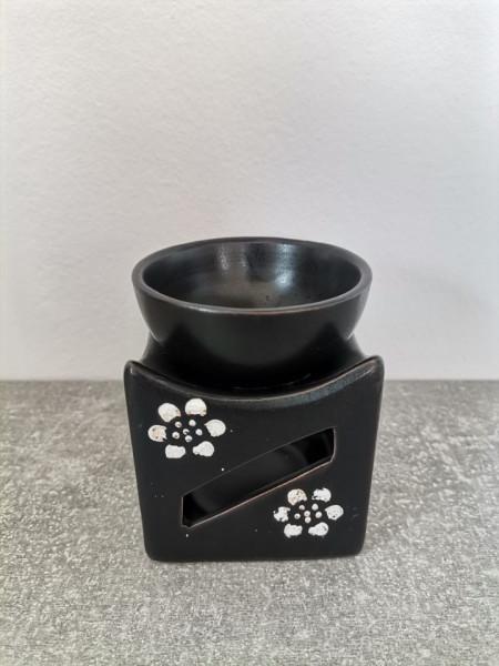 Suport ceramica ulei aromaterapie flori