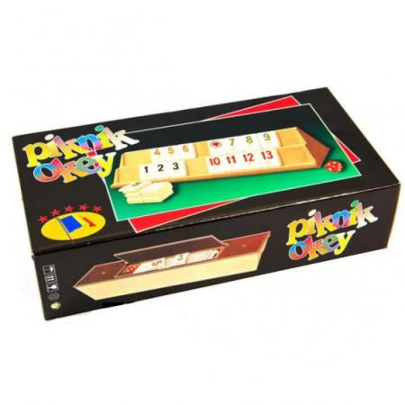 Joc de societate Rummy(Remi) - Joc rummy Piknik Okey