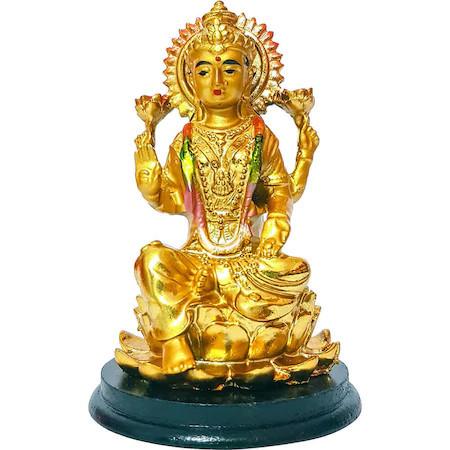 Zeita bogatiei Lakshmi, remediu Feng Shui pentru bani si spor in casa si la munca, statueta aurie