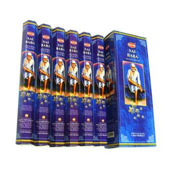 Set betisoare parfumate Hem SAI BABA 1 set x 6 cutii x 20 betisoare