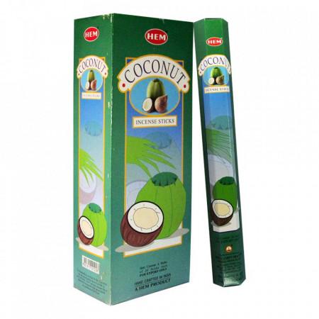 Set betisoare parfumate Hem Cocos 1 set x 6 cutii x 20 betisoare