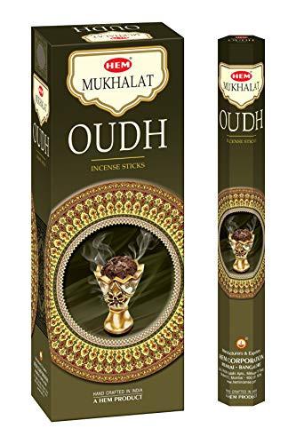 Set betisoare parfumate Hem Mukhallat OUDH 1 set x 6 cutii x 20 betisoare