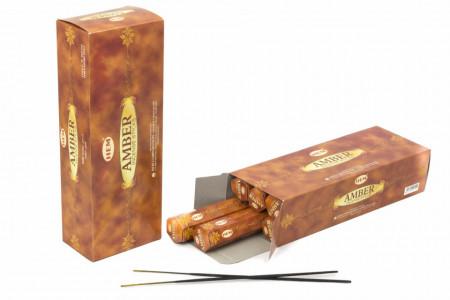 Set betisoare parfumate AMBER ( CHIHLIMBAR ) 1 set x 6 cutii x 20 betisoare