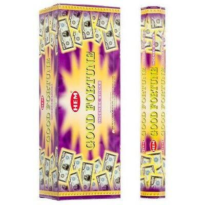 Set betisoare parfumate Hem Good Fortune 1 set x 6 cutii x 20 betisoare