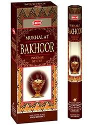 Set betisoare parfumate Hem Mukhallat Bakhoor 1 set x 6 cutii x 20 betisoare