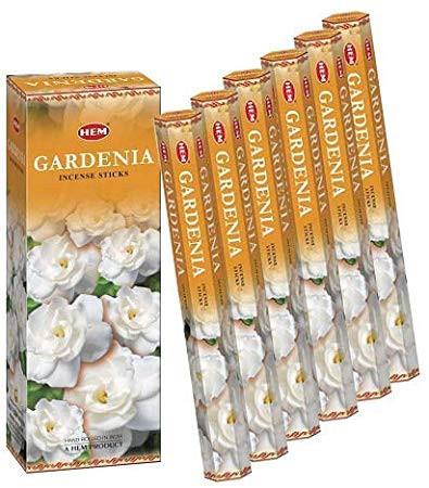Set betisoare parfumate Hem Gardenia 1 set x 6 cutii x 20 betisoare