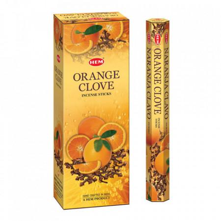 Set betisoare parfumate Hem Orange Clove 1 set x 6 cutii x 20 betisoare
