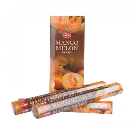 Set betisoare parfumate Hem Mango si pepene galbenI 1 set x 6 cutii x 20 betisoare