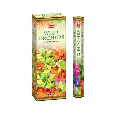Set betisoare parfumate Hem ORHIDEE SALBATICA 1 set x 6 cutii x 20 betisoare