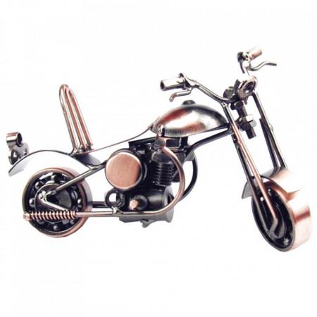 Macheta motocicleta metal 15x6x7.5cm