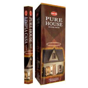 Set betisoare parfumate Hem Pure House 1 set x 6 cutii x 20 betisoare
